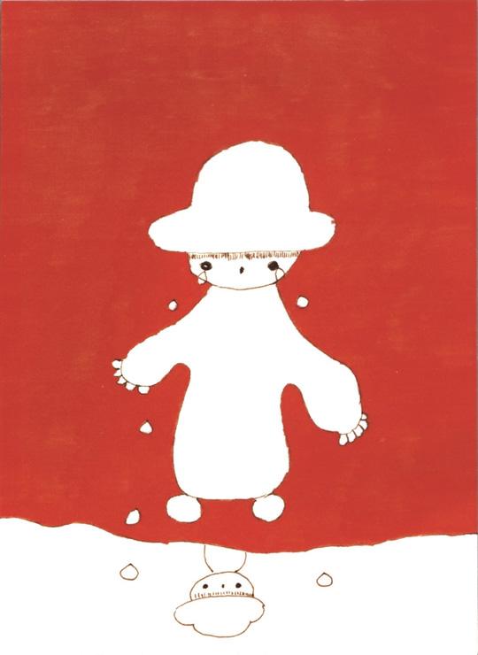 ねむの木学園のこどもたちとまり子美術展